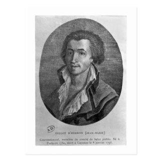 Retrato de los d'Herbois de Jean-Marie Collot (175 Postal