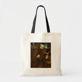 Retrato de los Di Vicenza del Fra Gregorio Belo po Bolsa De Mano