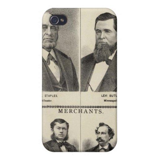 Retrato de los distribuidores autorizados de la ma iPhone 4 cárcasas