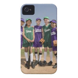 Retrato de los equipos de la liga pequeña Case-Mate iPhone 4 fundas