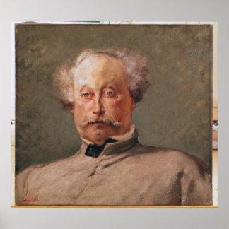 Retrato de los fils de Alejandro Dumas Posters