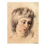 Retrato de los muchachos de Paul Rubens Tarjeta Postal