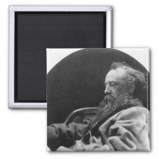 Retrato de los vatios de George Frederick Imán Cuadrado