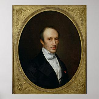 Retrato de Louis Cauchy Posters