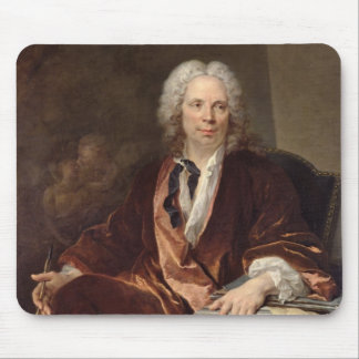 Retrato de Louis Galloche 1734 Alfombrilla De Raton