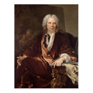 Retrato de Louis Galloche 1734 Tarjetas Postales