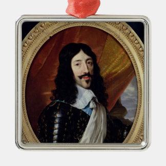 Retrato de Louis XIII después de 1610 Ornaments Para Arbol De Navidad