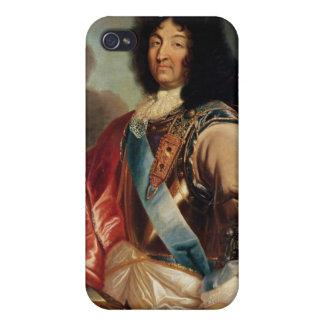 Retrato de Louis XIV 2 iPhone 4/4S Carcasas