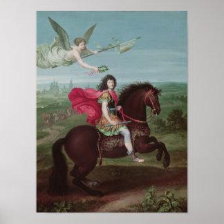 Retrato de Louis XIV 2 Poster