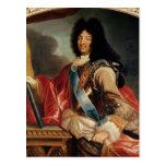 Retrato de Louis XIV 2 Tarjetas Postales