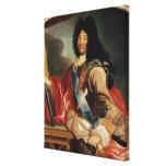 Retrato de Louis XIV Impresión En Tela