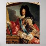Retrato de Louis XIV Póster