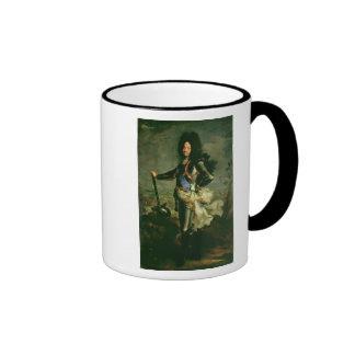 Retrato de Louis XIV Taza A Dos Colores