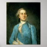 Retrato de Louis XVI 1775 Póster