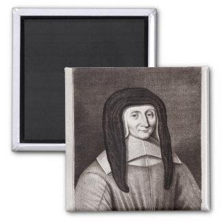 Retrato de Louise de Marillac Imán Cuadrado