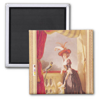 Retrato de Louise-Elisabeth de Francia y ella Imán Cuadrado