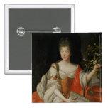 Retrato de Louise-Francoise de Borbón Pins