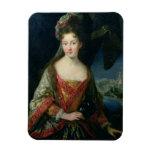 Retrato de Louise-Hipólito (1687-1731), princesa Imán Rectangular