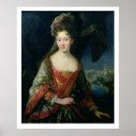 Retrato de Louise-Hipólito (1687-1731), princesa Impresiones
