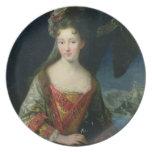 Retrato de Louise-Hipólito (1687-1731), princesa Platos De Comidas