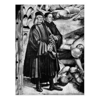 Retrato de Luca Signorelli y de Fra Angelico Postales