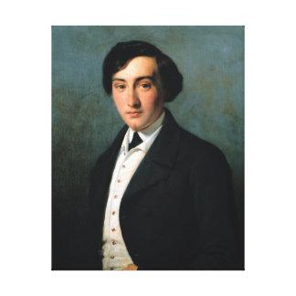 Retrato de Lucien Petipa 1849 Impresión En Lona