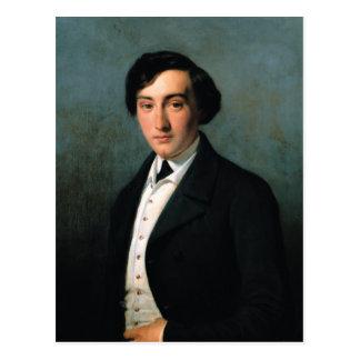 Retrato de Lucien Petipa 1849 Tarjeta Postal