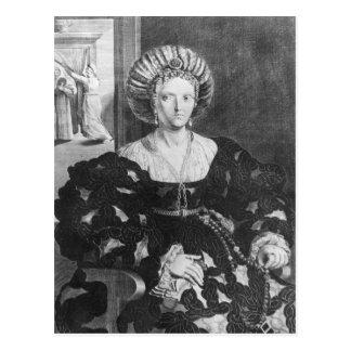 Retrato de Lucrezia Borgia Tarjeta Postal