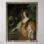 Retrato de Lucy Percy, condesa de Carlisle Póster