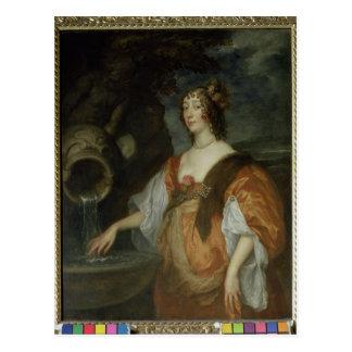 Retrato de Lucy Percy, condesa de Carlisle Tarjeta Postal