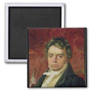Retrato de Ludwig van Beethoven Imán De Frigorífico