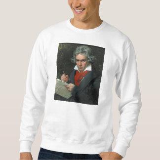 Retrato de Ludwig van Beethoven Sudadera