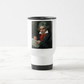 Retrato de Ludwig van Beethoven Taza De Café