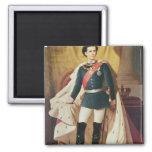 Retrato de Luis II de Baviera en uniforme Iman De Nevera