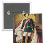 Retrato de Luis II de Baviera en uniforme Pin