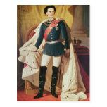 Retrato de Luis II de Baviera en uniforme Tarjetas Postales