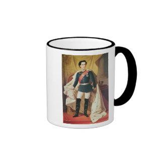 Retrato de Luis II de Baviera en uniforme Taza A Dos Colores