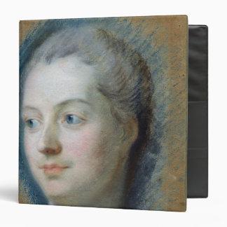 """Retrato de Madame de Pompadour 1752 Carpeta 1 1/2"""""""