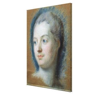 Retrato de Madame de Pompadour 1752 Impresiones De Lienzo
