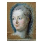 Retrato de Madame de Pompadour 1752 Tarjetas Postales