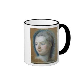 Retrato de Madame de Pompadour 1752 Taza De Café