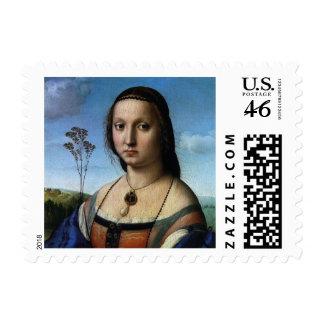 Retrato de Magdalena Doni por Raphael o Raffaello