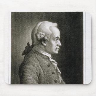 Retrato de Manuel Kant filósofo alemán Alfombrillas De Ratón