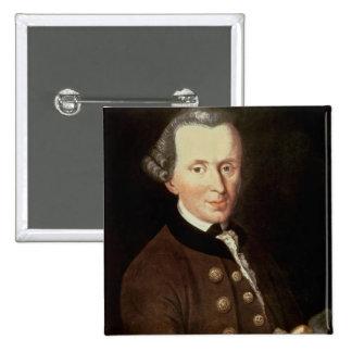 Retrato de Manuel Kant Pin Cuadrado