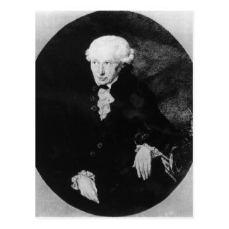 Retrato de Manuel Kant Postal