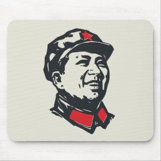 Retrato de Mao del presidente Alfombrillas De Raton