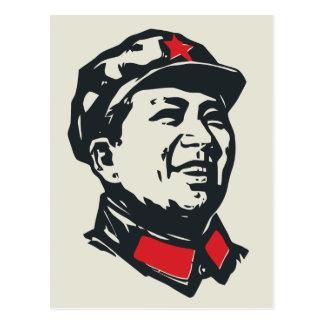 Retrato de Mao del presidente Postales