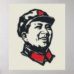 Retrato de Mao del presidente Posters