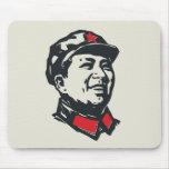 Retrato de Mao del presidente Tapete De Ratones