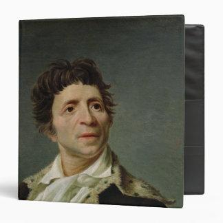 """Retrato de Marat 1793 Carpeta 1 1/2"""""""